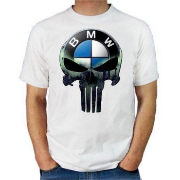 T-SHIRT PUNISHER BMW