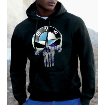 BLUZA KANGURKA PUNISHER BMW