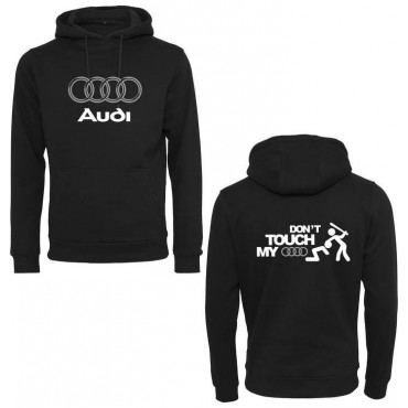 BLUZA KANGURKA DON'T TOUCH MY AUDI