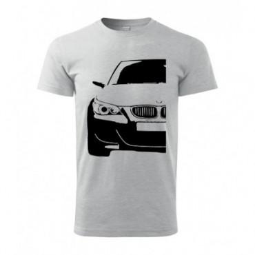 T-shirt męski KONTURY BMW E60 połowa