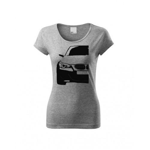 T-shirt damski KONTURY BMW E60 połowa