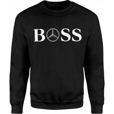 BLUZA BEZ KAPTURA BOSS MERCEDES