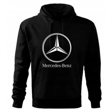 BLUZA KANGURKA Logo Mercedes
