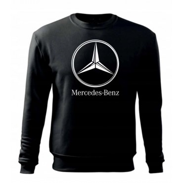 BLUZA BEZ KAPTURA Logo Mercedes