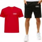 Zestaw T-shirt + spodenki Audi