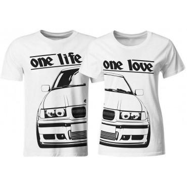 Zestaw koszulek dla pary kontury BMW E36