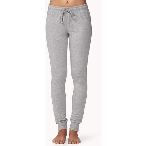 19c162f8b Spodnie dresowe damskie długie szare - BANDEROLKA